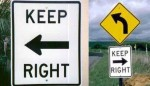 Keep Right?!